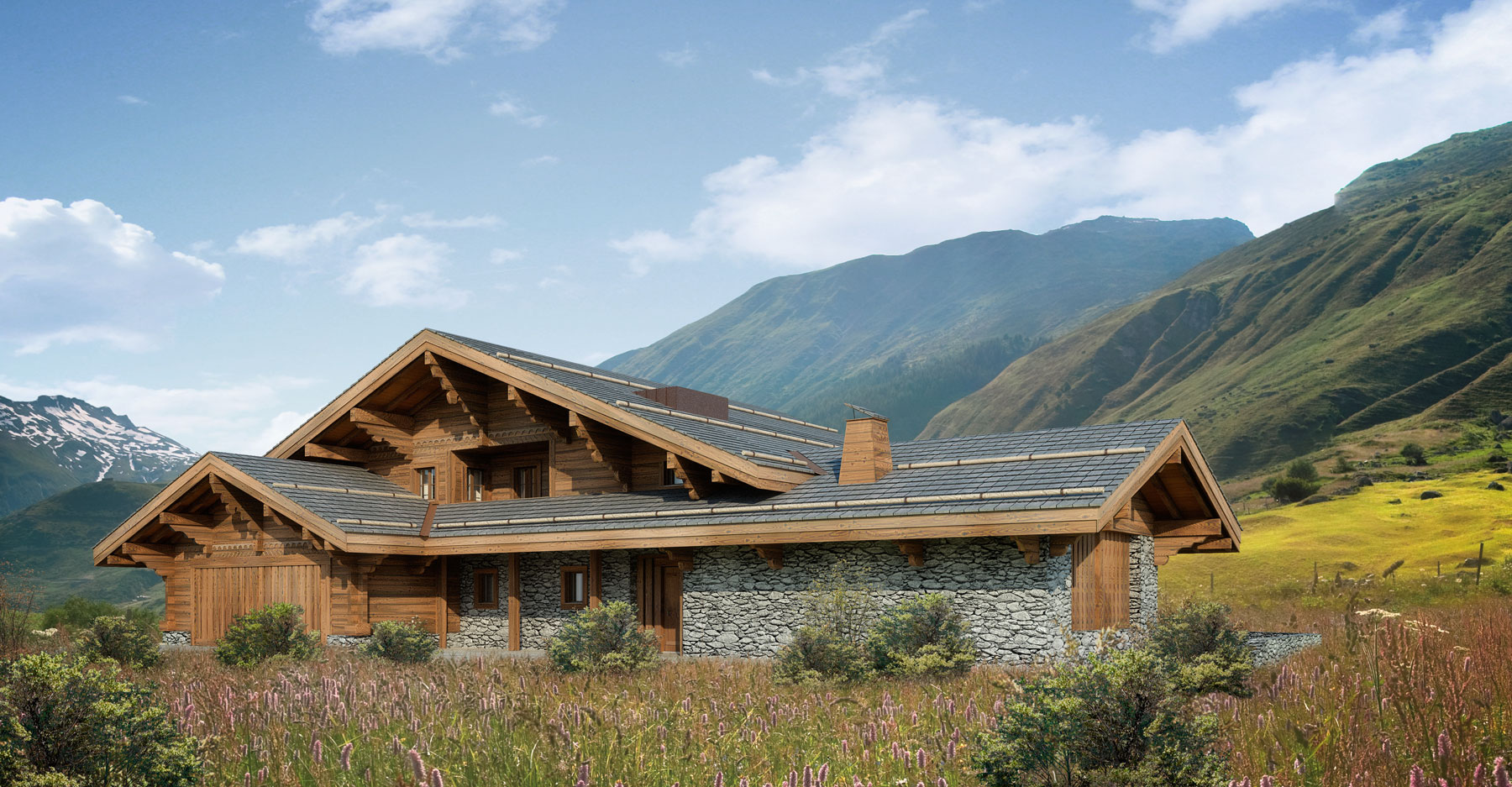 Hauswirth architekten andermatt swiss alps - Chalet architectuur ...