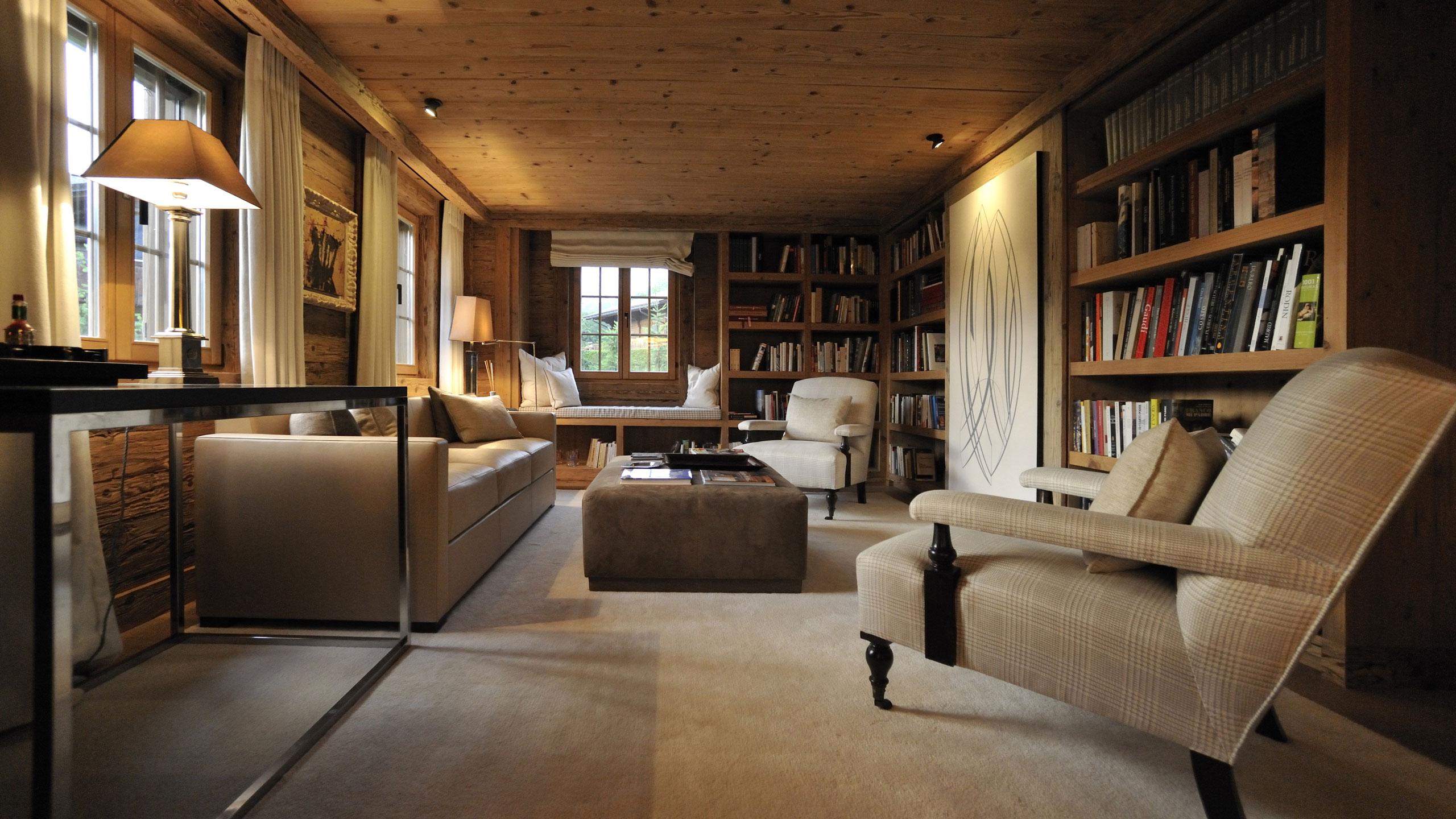 Hauswirth architekten chalet gstaad for Architekten wohnzimmer
